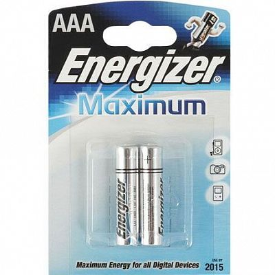 Батарейки Energizer LR03 AAА Maximum 2 шт